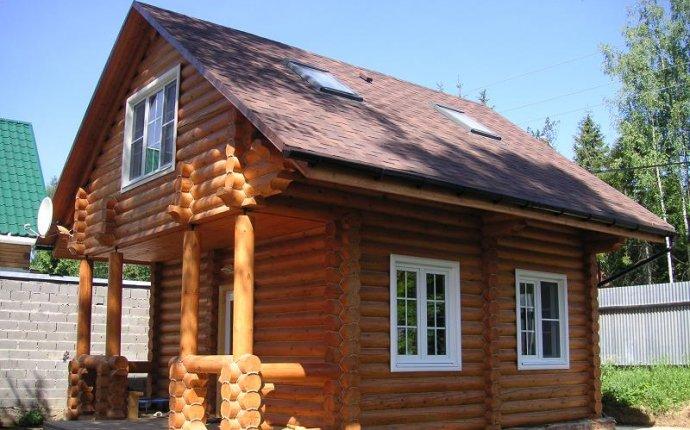 Деревянные дома из бревна. Купить дом, коттедж из бревна под ключ