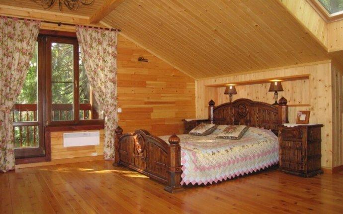 Интерьер деревянного дома внутри: стили интерьера, фото