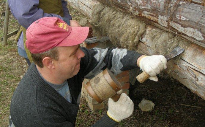 Конопатка сруба своими руками технологии материалы и советы