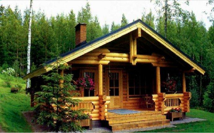 Одноэтажные срубы домов из бревна недорого: проекты, цены и фото