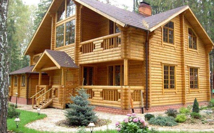 построить бревенчатый дом?