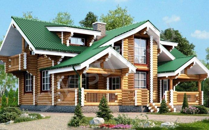 Проекты деревянных домов - каталог проектов домов из