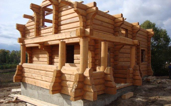Строительство домов из лафета, дома по норвежской технологии