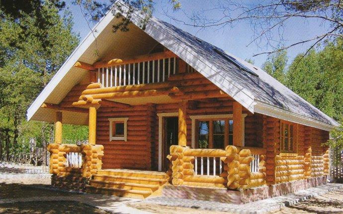Строительство домов из оцилиндрованного бревна - Янтарный Город