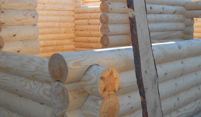 Строительство коттеджей, домов, бань, беседок из оцилиндрованного
