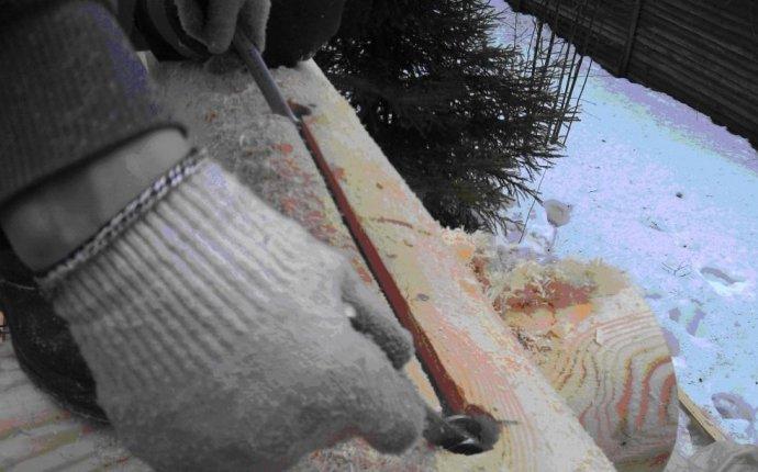 Технология сборки сруба из оцилиндрованного бревна